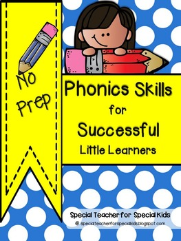 Phonics Skills Book for Little Learners *** No Prep***