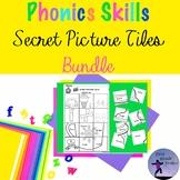 Phonics Skills Secret Picture Tiles Bundle