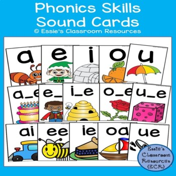 Phonics Skills Sound Cards