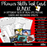 Phonics Skills Task Card Bundle Write The Room
