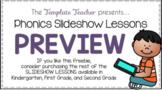Phonics Slideshow Lessons using Powerpoint or Google Slide
