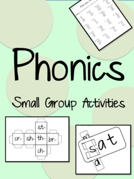 Phonics - Small Group Activities