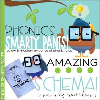 Phonics Activities - Phonics Smarty Pants - End of the Year Review