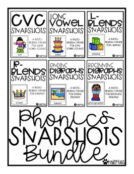 Phonics Snapshots Bundle