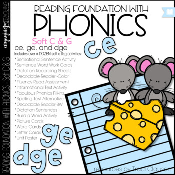 Phonics - Soft C and G - Reading Foundation with Phonics