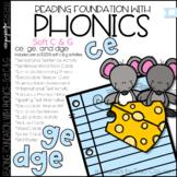 Phonics - Soft C and G - Reading Foundational Skills