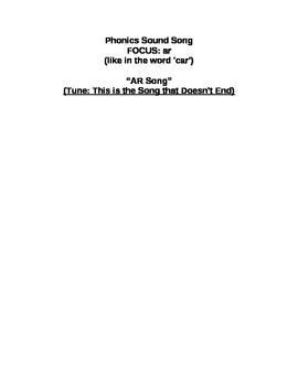 Phonics Song: AR