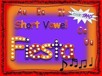 Phonics Song: Short Vowel Fiesta! MP3 & LYRICS