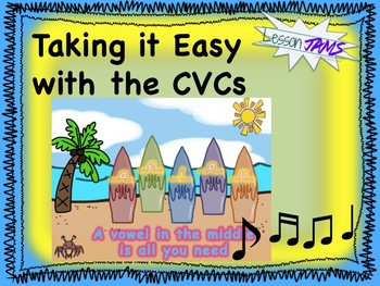 Phonics Song: Taking it Easy with the CVCs MP3 & Lyrics