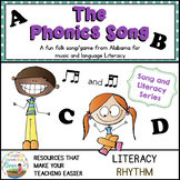 Phonics Song and Game for fun, Language, and Music Literacy
