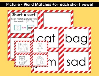 Phonics Sort Cards for the ENTIRE YEAR