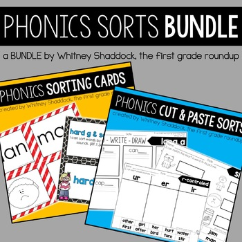 Phonics Sorts, the Bundle for K-2
