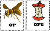 Phonics Sort Or vs. Ore