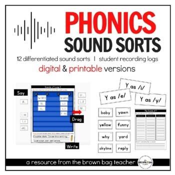 Phonics Sorts: 12 Differentiated Sorts