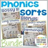 Phonics Sorts Bundle