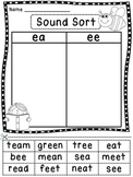 Phonics Worksheets (21 Fun Word Sorts by Sound) Great spelling practice too!