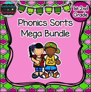 Phonics Sorts: Mega Bundle