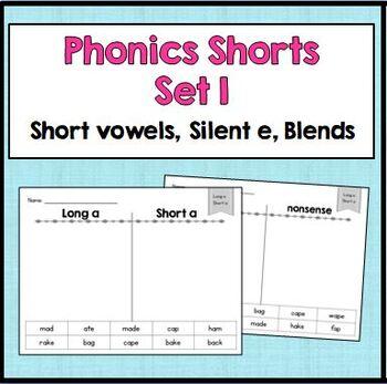 Phonics Sorts: Set 1