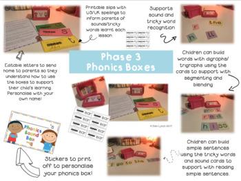 Phonics Sound Boxes Phase 3