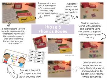 Phonics Sound Boxes Phase 5