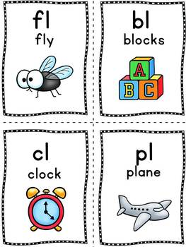 Phonics Sound Cards - Flash cards for phonics learning!