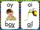 Phonics Sound Cards with Bright Border
