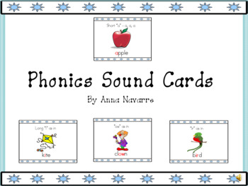 Phonics Sound Cards with Power Point