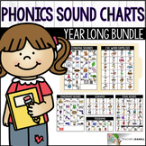 Phonics Sound Charts - Year Long Bundle