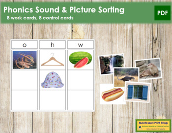 Phonics Sound & Picture Sorting