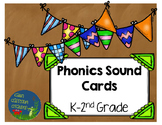 Phonics Sound Wall Cards