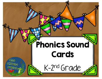 Phonics Sound Wall Cards