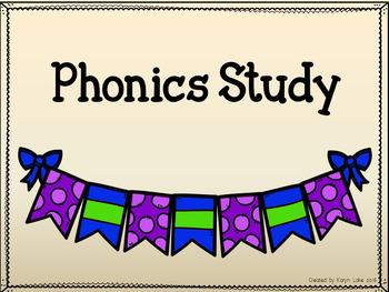 Phonics Sounds Cards