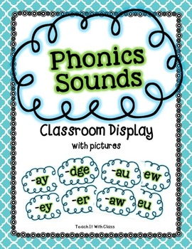 Phonics Sounds Classroom Display