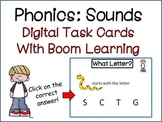 Phonics: Sounds Digital Task Cards with Boom Learning