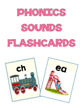 Phonics Sounds Flashcards (Editable!)