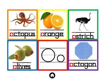 Phonics Sounds Placemats with pictures- ESL, Orton Friendly