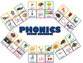 Phonics Word Picture Mats with Over 100 Sounds Covered- Ho