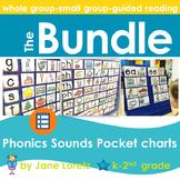 Phonics-Sounds Pocket Charts (BUNDLED)