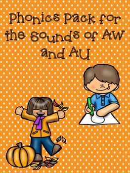 Phonics Sounds of AU and AW