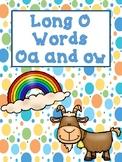 Phonics Sounds of OW and OA (Long O)