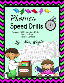 Fluency - Phonics Speed Drills
