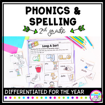 Image showing Phonics & Spelling resource for 2nd Grade