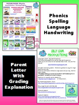 Phonics-Spelling Assessments LONG VOWELS Common Core Aligned