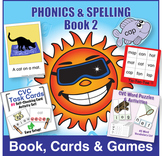 Phonics & Spelling, Book 2 Bundle