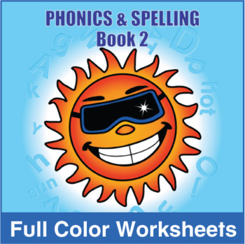 Phonics and Spelling Book 2 Full Color Textbook