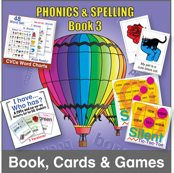 Phonics & Spelling, Book 3 Bundle