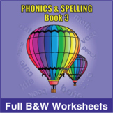 Phonics & Spelling, Book 3-Full BW Textbook
