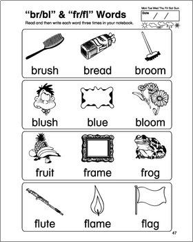 Phonics & Spelling, Book 4-Full BW Textbook