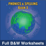 Phonics and Spelling Book 4 Full BW Textbook