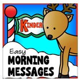 December Kindergarten Morning Work